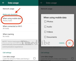 How To Stop WhatsApp Auto Download Off from Mobile Data