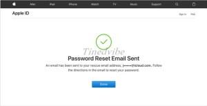 Change iCloud Password - iCloud Password Reset