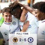 Tammy Abraham Nets Brilliant Hat-Trick As Chelsea Smash Wolves 5-2