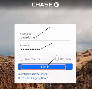 Chase Bank Online Sign In