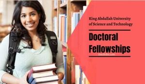 KAUST Al Khwarizmi doctoral fellowships in Saudi Arabia 2021