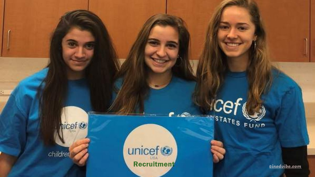 UNICEF Recruitment 2022