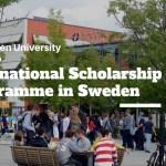 Mälardalen University Scholarship 2022 in Sweden   How to Apply