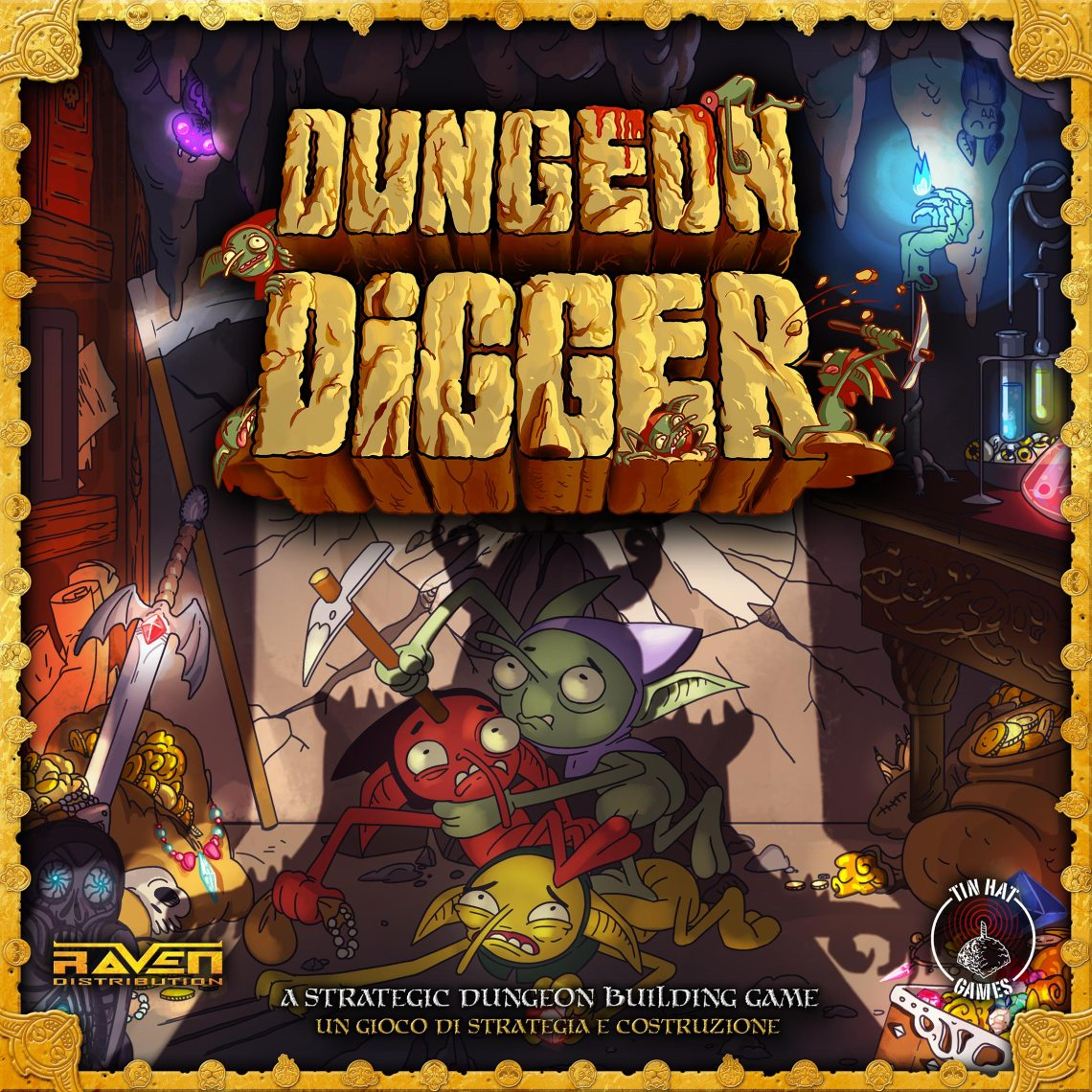 Dungeon Digger - Cover