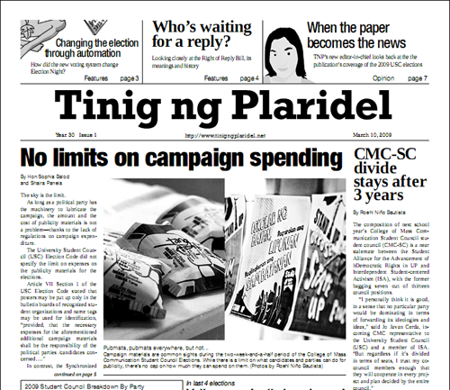 TNP's 2009 Election Special now online
