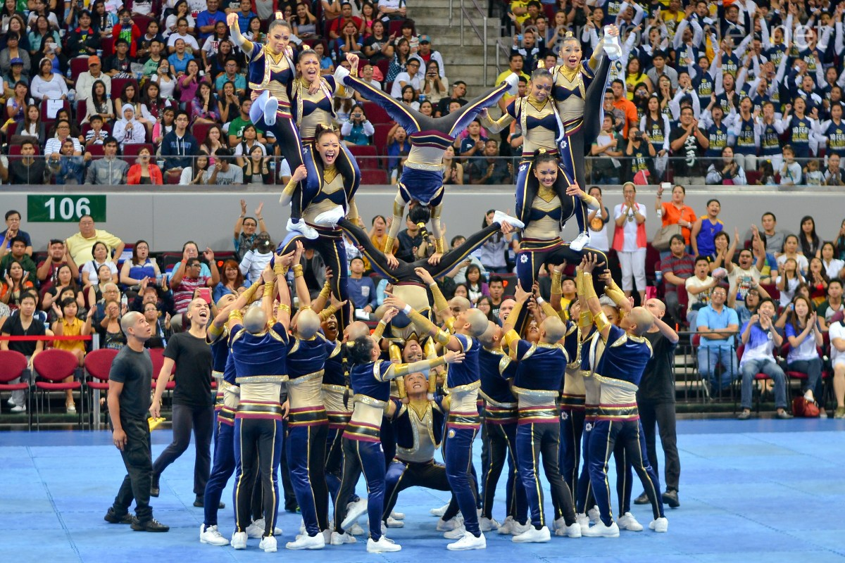 NU dethrones UP; bags 1st cheerdance crown