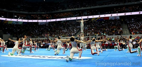 Last year, the UP Pep Squad bagged its 8th championship title in the UAAP Cheerdance Competition. Photo by Michelle Angelica Soriano