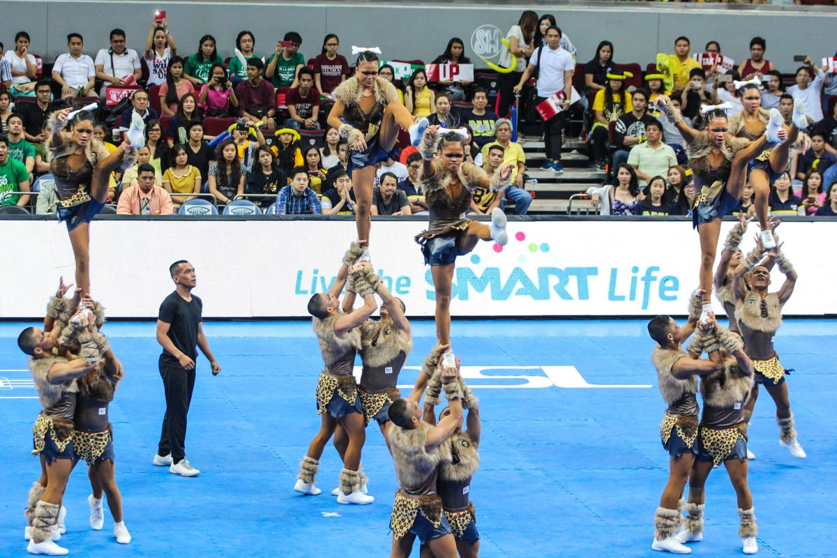 NU Pep Squad goes three-peat in UAAP Cheerdance; UP finishes third