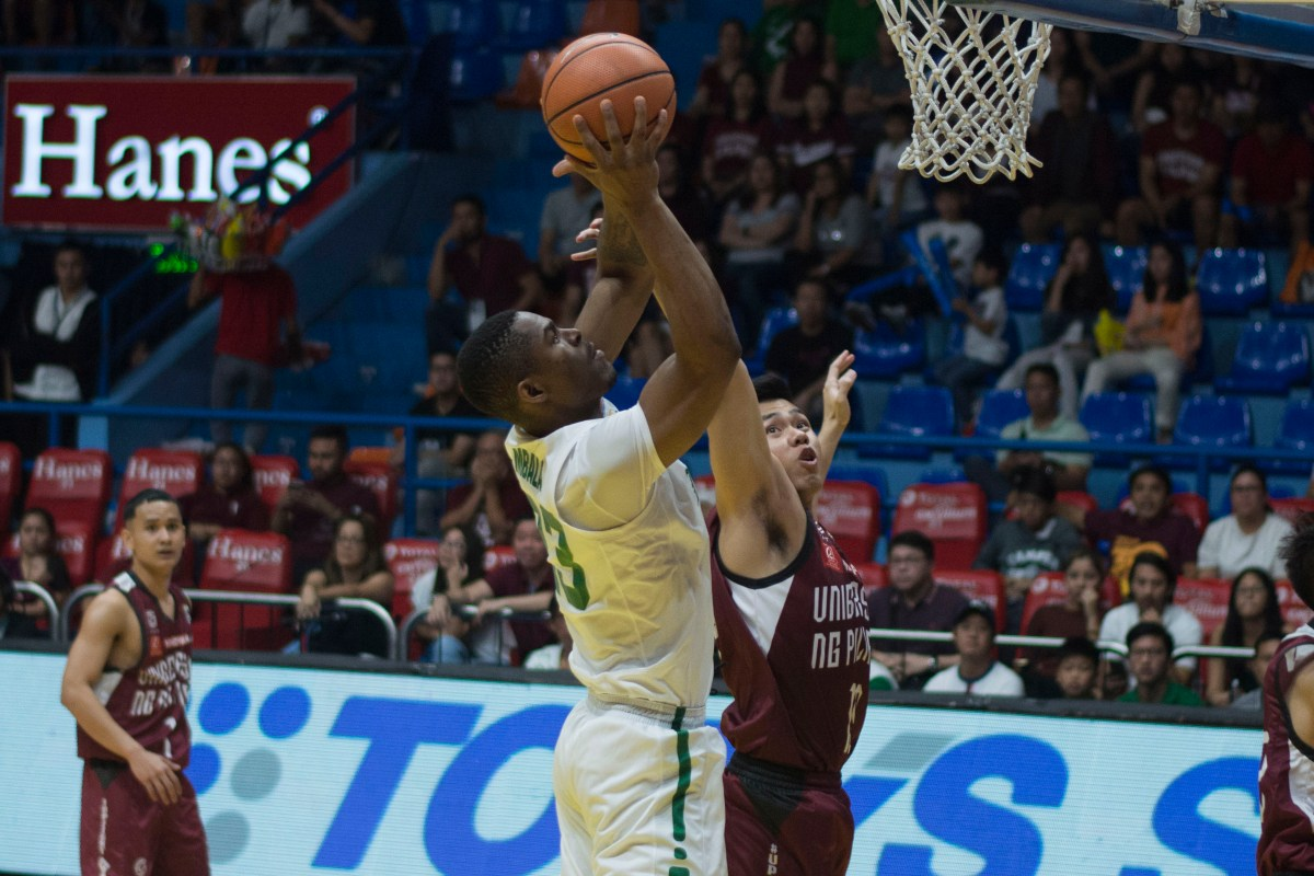 Mbala grounds Desiderio, powers DLSU against UP