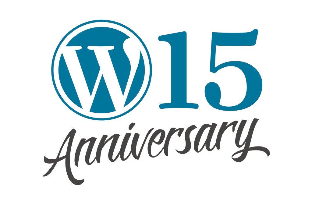 15 aniversario de WordPress