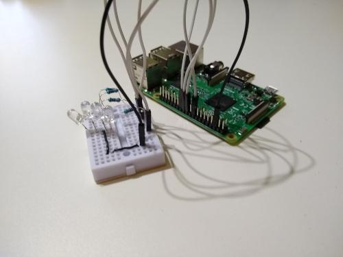 Componentes electrónicos utilizados en nuestro proyecto para la WordCamp Valladolid