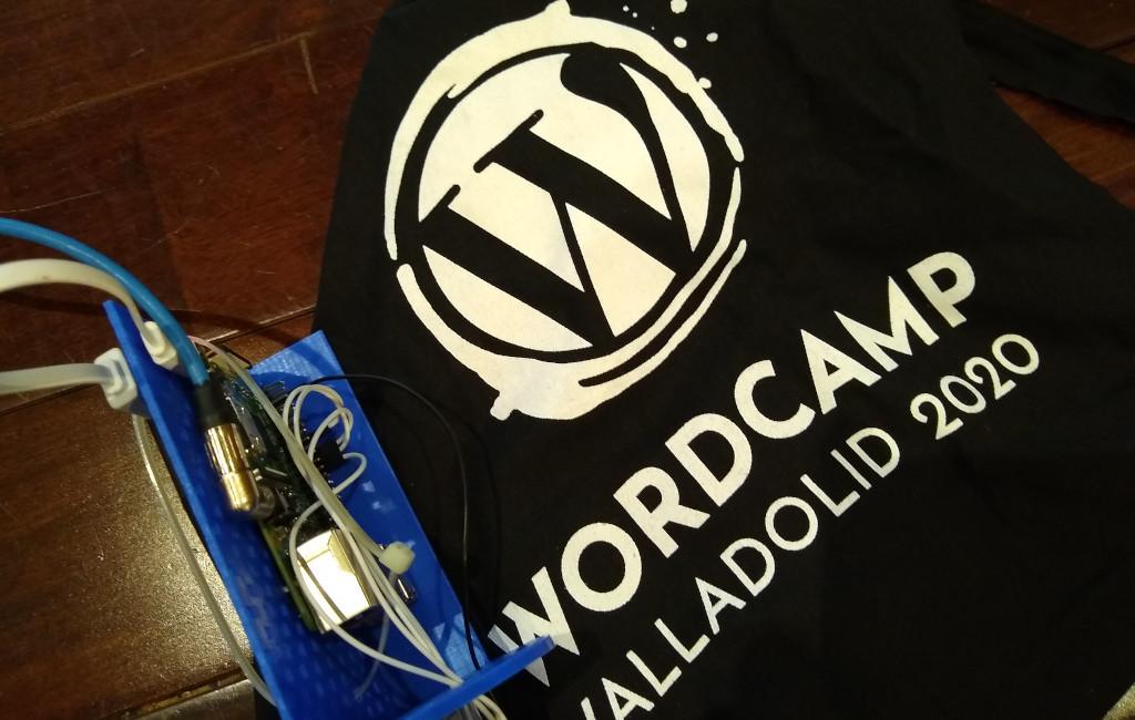 Nuestro cacharro en WordCamp Valladolid