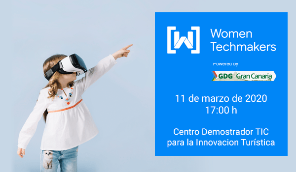 Cartela del evento Women Techmakers 2020