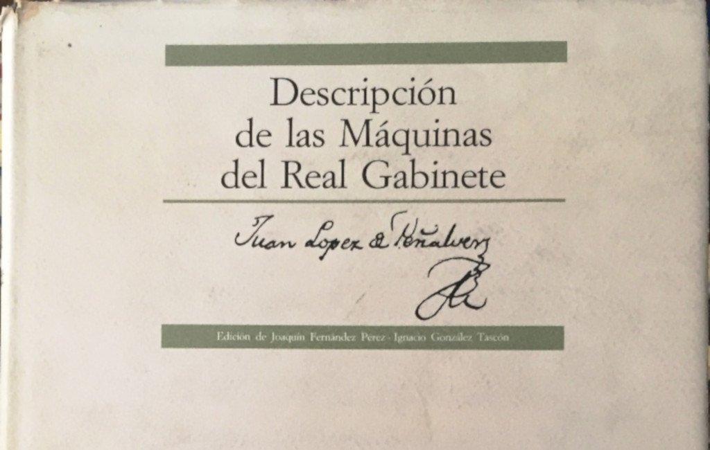 Juan López Peñalver, portada de uno de sus libros