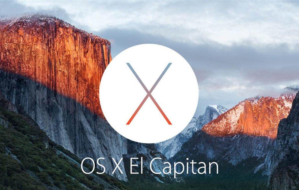 Sistema operativo de Apple: OS X El Capitan