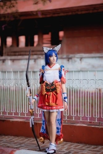 Cosplay Kawaii Fox Girl