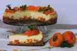 Bazový cheesecake s marhuľami