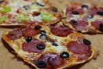 Talianska mini pizza
