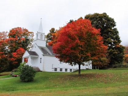 Tinmouth Community Church fall season
