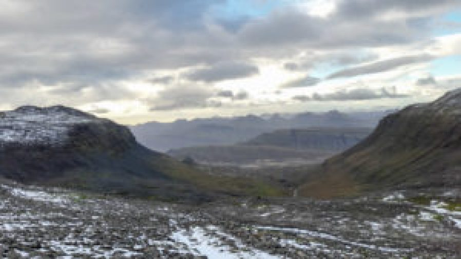 Reindalsheiði, East Iceland, Iceland, hike, hiking trail