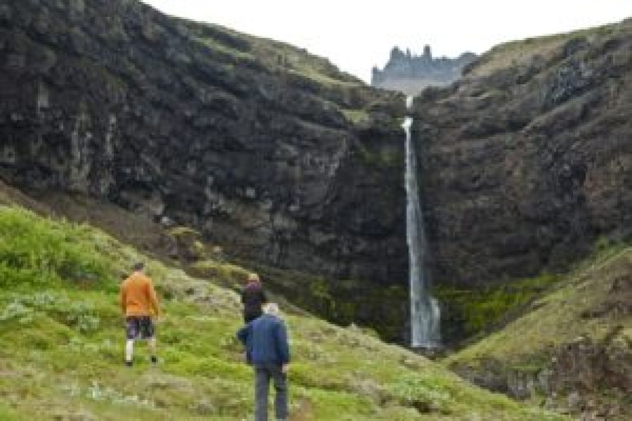 Flögufoss, waterfall, Iceland, East Iceland, day tours, guided tours, super jeep tours,