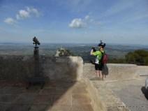 ... oben am Sant Salvador angekommen mussten natürlich auch noch ein paar Fotos gemacht werden ...