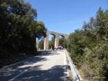 Hinter diesem Aquadukt begann der Anstieg zur wohl bekanntesten Straße von Mallorca