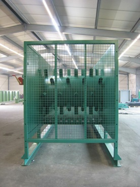 Metering Bin Amp Storage System For Recycling Centers
