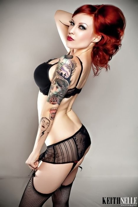 Fotos de Pin-Ups tatuadas (41)