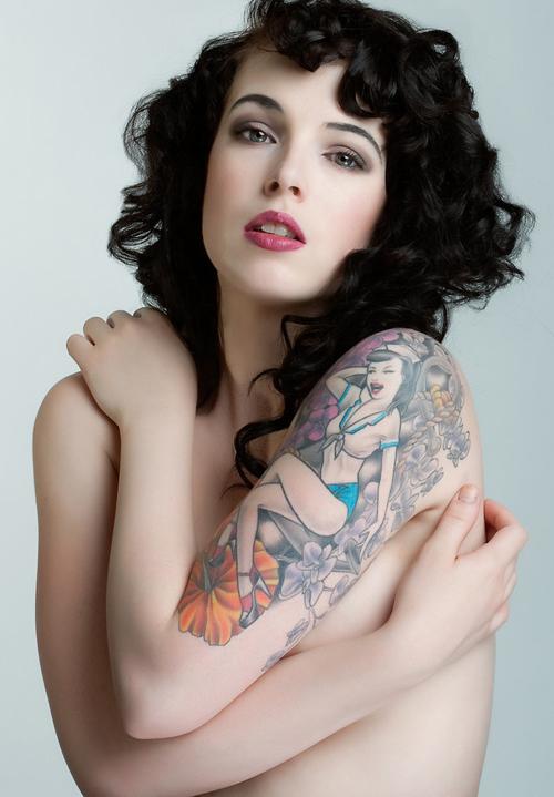Fotos de Pin-Ups tatuadas (28)