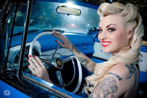 Fotos de Pin-Ups tatuadas (10)