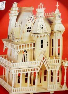 Fantasy Villa dolls house - 1/24th scale