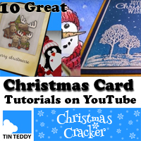 Ten Great Christmas Card Tutorials on YouTube