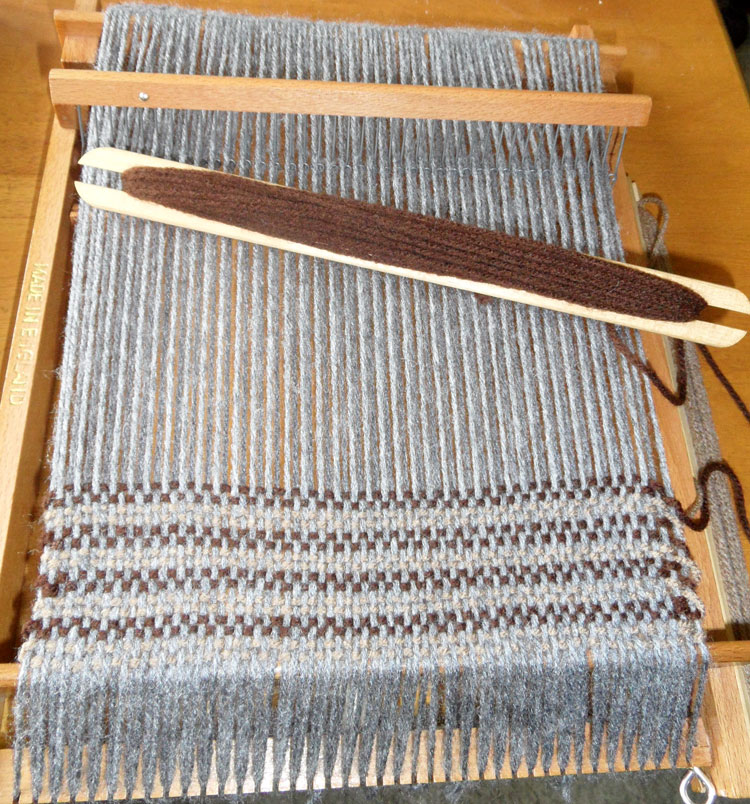 Spears Weaving Loom in Action