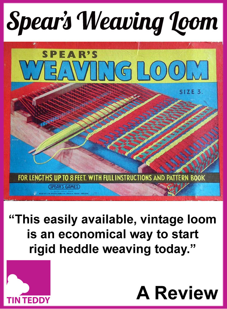 A review of the 1950s Spears Weaving Loom number 3.  It may be old, but this vintage weaving loom is a great, economical way to get into weaving.