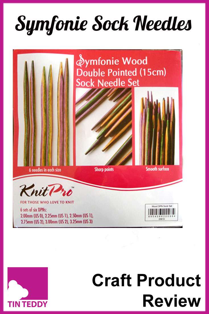 A review of the Symfonie Wood Double Pointed Sock Needle Set by Knit Pro.  Are these the best needles you can buy?