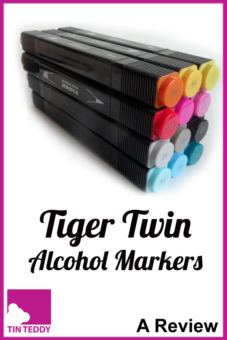 A detailed review of the Tiger Twin alcohol markers.  Are these budget markers any good?  Are they worth buying?