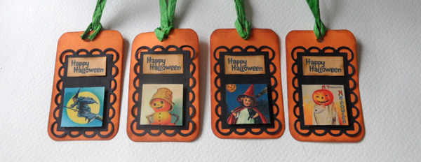 Halloween Tags Tutorial