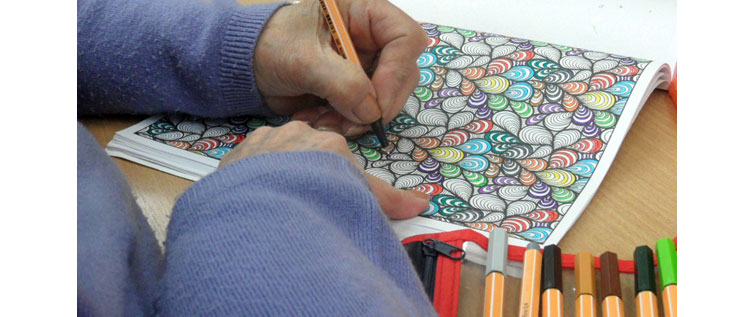Adult Colouring Books and Mindfulness