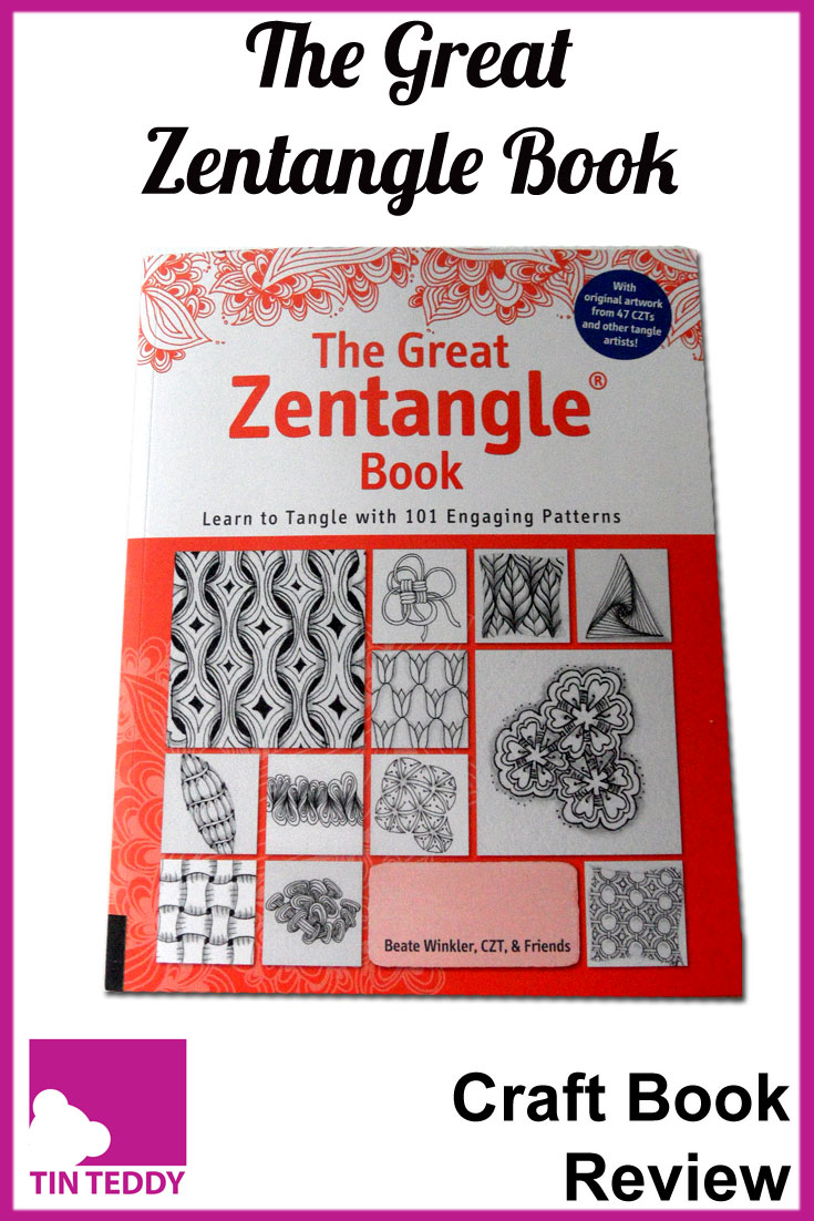 Review of The Great Zentangle Book by Beate Winkler.  Loads of great zentangle patterns and ideas.