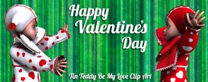 Happy Valentine's From Tin Teddy