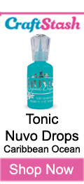 Tonic Nuvo Drops Caribbean Ocean at CraftStash.co.uk