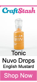 Tonic Nuvo Drops English Mustard at CraftStash.co.uk