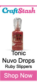 Tonic Nuvo Drops Ruby Slippers at CraftStash.co.uk