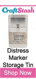 Distress Marker Storage Tin