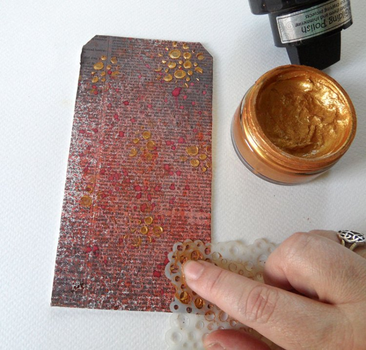 Adding Gilding Polish to the tag