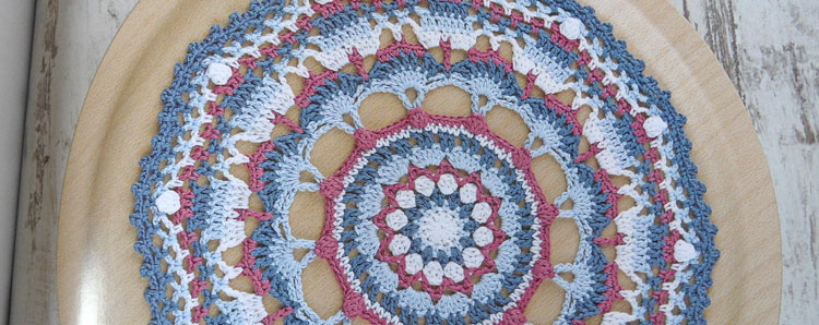 Round the Crochet Hook- mandala