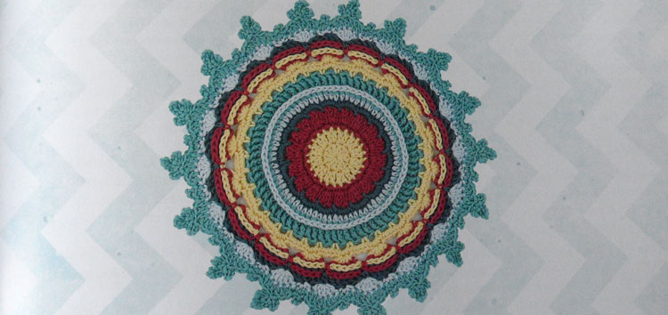 Round the Crochet Hook - Sweet Sunshine Doily