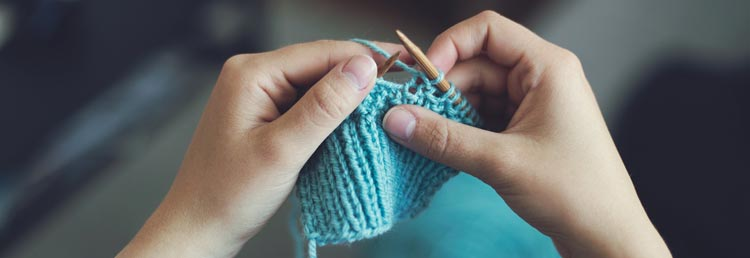 Learn to knit with Pinterest
