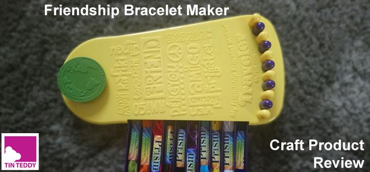 Friendship Bracelet Maker - Travel Edition